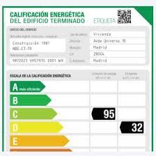 certificado energ tico
